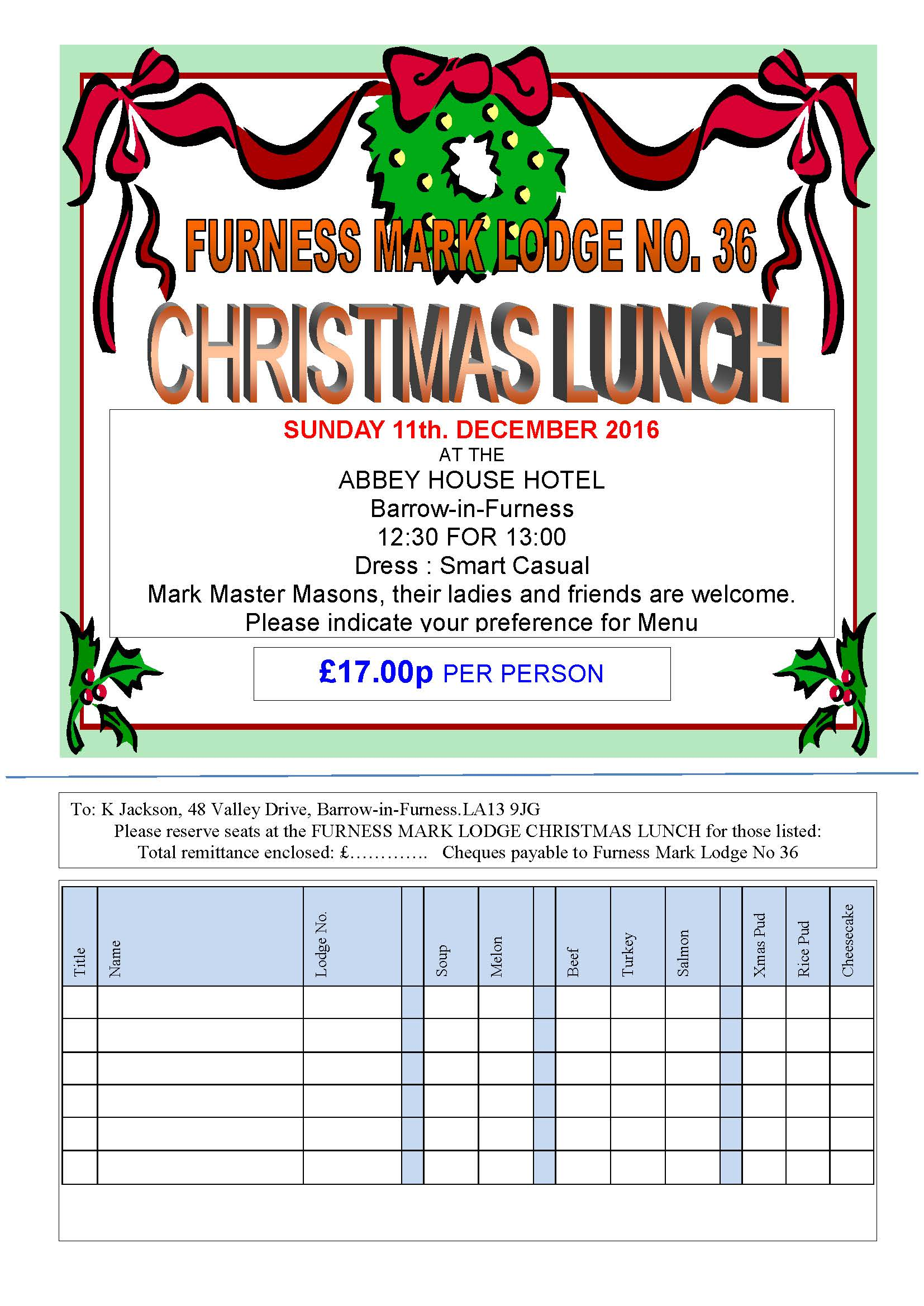 furness christmas